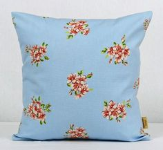 This is for one 16 inch x 16 inch Tilly Blue double sided cushion cover. This cushion cover comes in a Tilly Blue fabric on both sides of the cushion cover. With an invisible zip which is at the bottom of the cushion cover, This give a stylish finishin. Blue Throw Pillows, Floral Pillows, Diy Pillows, Throw Pillow Covers, Bee Design, Design Shop, Clarke And Clarke Fabric, Blue Shabby Chic, Pillowcase Pattern