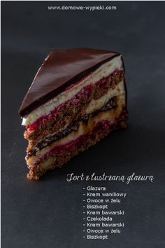 Matcha, cocoa and white chocolate marbled - HQ Recipes Polish Desserts, Cookie Desserts, Sweet Recipes, Cake Recipes, Dessert Recipes, Cupcake Cakes, Cupcakes, Torte Cake, Fudge Cake