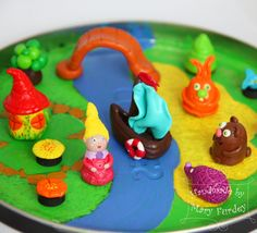 Fairy story. Polymer clay figures set. Toys with magnets. by MaryFurdey on Etsy