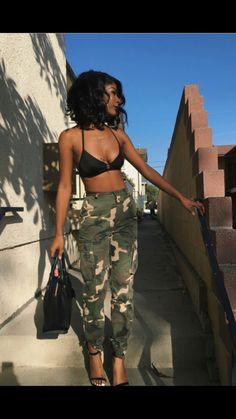 Best Sporty Outfits Part 1 Black Girl Magic, Black Girls, Black Women, Summer Outfits, Casual Outfits, Cute Outfits, Fashion Killa, Fashion Beauty, Style Feminin
