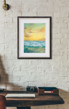Both the original and prints are available at Off River Road. I think this one would make a fantastic gift for anyone wanting to brighten up their home.