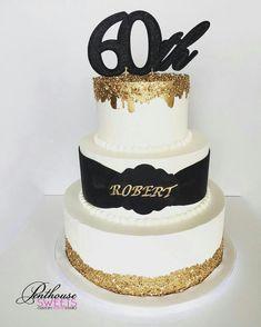 Resultado de imagem para fancy birthday cakes for men Birthday Cakes For Men, Birthday Cake For Husband, Gold Birthday Cake, 40th Birthday, Gold Dripping Cake, Black And Gold Cake, Cake Design For Men, Champagne Birthday, Dad Cake