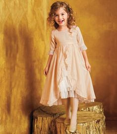 gold vintage fairy-tale dress - Chasing Fireflies