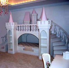 Ruth is in LOVE with this bed but for $20,000 (unless I build it myself) - no way LOL