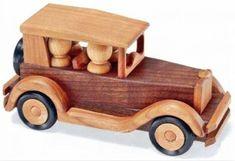 Wooden Deuce Coupe Plan