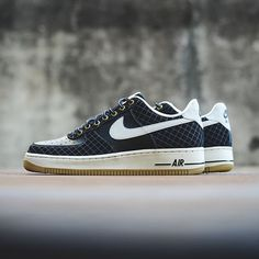 Nike Air Force 1 - Black/Light Bone $90 sizes 8-13 Available now at all locations. Call 225.761.3007 for more info. #af1 #sneakerpolitics #airforce1