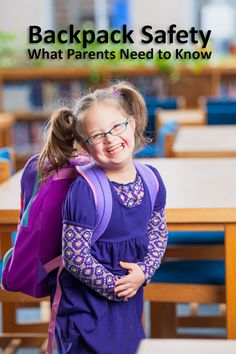 Backpack Safety and Injury Prevention: What Parents Need to Know. Lots of good things for parents to know regarding backpacks, the weight of books in them and how to prevent strains, sprains and posture problems. #backpacks #parenting #kidshealth #backtoschool