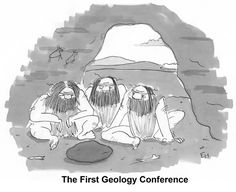 It's the first geology conference. From himelblog: fun classroom biology