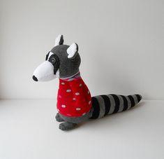 sock raccoon | by Treacher Creatures