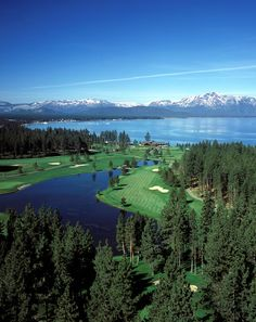 Edgewood Tahoe, where else does a golf course have views like this? http://visit-eldorado.com/