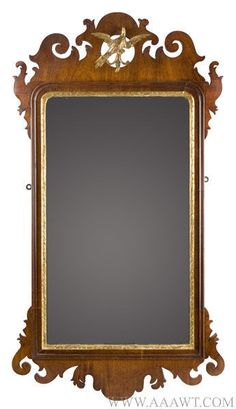 Antique Mirrors, Looking Glass, Courting, Fragment, Misc