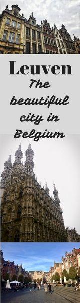 Leuven. Beautiful Belgian city you might never heard of!