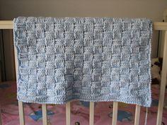 Ravelry: Preemie Basketweave Baby Blanket pattern by Kristine Mullen