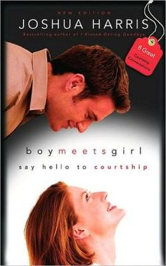 Boy Meets Girl: Say Hello to Courtship by Joshua Harris - his second book on courtship, including testimony of his relationship with his wife Shannon. Free Books, Good Books, Books To Read, Big Books, Amazing Books, Joshua Harris, Dating Book, Godly Dating, Boys Online
