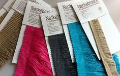 Stalen van tapijtfranjes voor moderne tapijten - Samples of carpet fringes for modern carpets
