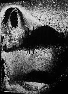 Minor White, Dumb Face, Window, 72 N. Union Street, Rochester, January 12 1959
