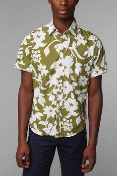 Reyn Spooner Royal Pareau Shirt