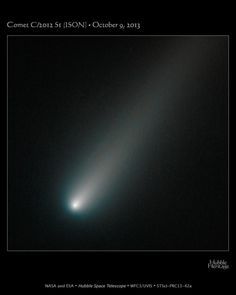 Hubble's Latest View Shows Comet ISON Still Intact, Fairly Average