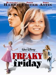 Freaky Friday with Jodie Foster Disney Movie Club, Film Disney, Disney Movies, Disney Live, Pixar Movies, Jodie Foster, Family Movie Night, Family Movies, Old Movies