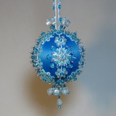 Swell 1000 Images About Bead Amp Sequin Ornaments On Pinterest Beaded Easy Diy Christmas Decorations Tissureus