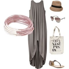 comfy outfit for a trip to the markets