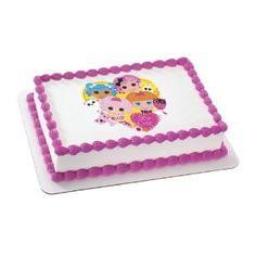Lalaloopsy Edible Cake Topper