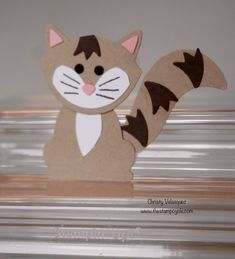 Critter Mania Using the Fox Builder Punch from Stampin Up! Episode #5 - ...