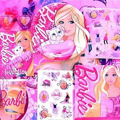 Barbie Theme Birthday Party Supplies Em would be fine with just this, I'm sure.