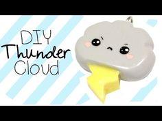Thunder Cloud kawaii friday 158 polymer clay tutorial