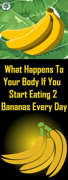 If You Eat 2 Bananas Per Day For A Month, This Is What Happens To Your Body ! If you eat 2 bananas per day for a month, this will happen to your body! Health Benefits, Health Tips, Women's Health, Motivation Yoga, Mat Yoga, Sante Plus, Endocannabinoid System, Thinking Day, What Happened To You