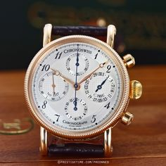 Pre-owned Chronoswiss Opus Chronograph ch7521-r