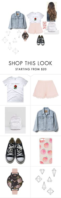 """""""Untitled #130"""" by laylyn ❤ liked on Polyvore featuring STELLA McCARTNEY, ASOS, Gap, Converse, Olivia Burton and Umbra"""