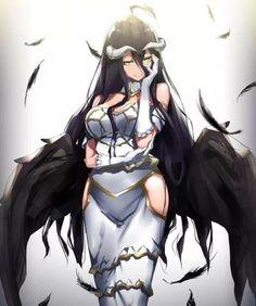 Overlord Dakimakura Albedo Anime Girl Hugging Body Pillow Covers Case Ver