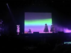 Sia in concert. I love her ❤