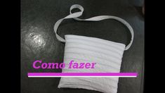 Como fazer Bolsa De Ziper /Aula #114