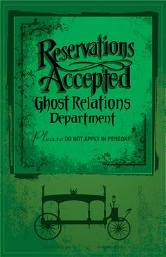 Reservations Accepted, Ghost Relations Department Design by Topher Adam Busenburg and Imafoolishmortal   T-shirts, iPhone, iPad covers, Samsung Galaxy covers, Stickers, Prints, Tote and pillows.   http://www.redbubble.com/people/topheradam/works/12228865-reservations-accepted-design-by-topher-adam