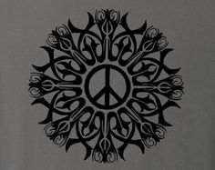 Give Peace a Chance Tattoo | John Lennon - Give Peace A Chance - The Tattoo Collection - charcoal ...