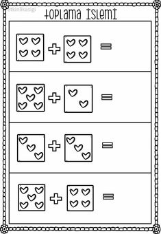 emel's media content and analytics Kindergarten Addition Worksheets, Kindergarten Math Activities, Preschool Writing, Kindergarten Math Worksheets, Math Tutor, Math Literacy, Simple Math, Homeschooling, Addition And Subtraction