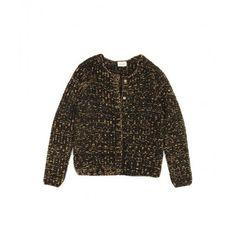Gilet Lurex Black Gold  WInter COllection fashion style  shop now www.belair-paris.fr/