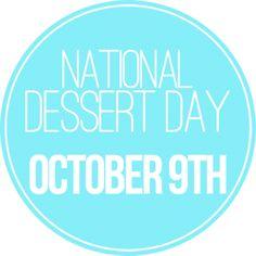Dessert Days!