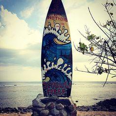 There's a bit of surfing done here :) #lombok #senggigibeach #upsticksngo #travelphotos #travellingtheworld #indonesia #surfspots #beachphotos