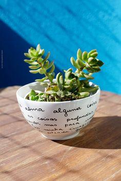 DIY - Tigela de poesia - Blog de decoração - Casa de Firulas