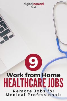 Do you have a healthcare background or work as a medical professional? There are plenty of remote jobs that you can do in that industry! Check out this article to learn what type of work from home jobs you can do as healthcare professional and how much money you can make! #remotework #sahm #flexiblejob