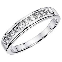 1.15 Carat (ctw) 14K White Gold Princess White « MyMallHome.com – Closest Shopping Mall on the Internet