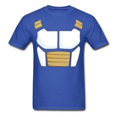 For the Saiyan inside you.  Dragonball Z Saiyan Armor t-shirt