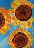 Artsonia Art Exhibit :: Close Up of Van Gogh's Sunflower