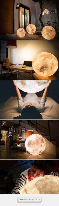 Full Moon Lamp – Fubiz Media - created via http://pinthemall.net