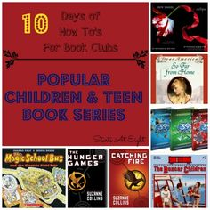 The How To's For Book Clubs: Popular Children & Teen Book Series - StartsAtEight
