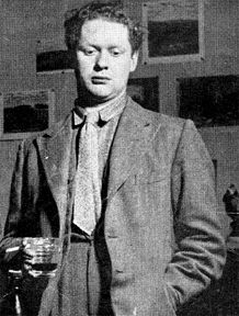 Dylan Thomas the poet Laureate of England during WWII. He restructured the formating to poetry in an intellectual twist.