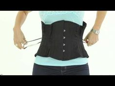 ▶ Coret 101: Goldilocks and the Three Corsets - YouTube. In this video Cheri shows you what a new corset looks like that is too big, too small and just right.